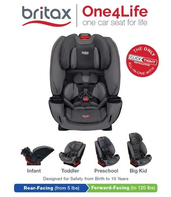 Infant Seat Vs Safety Seat Introducing One4life The First All In One Car Seat That S