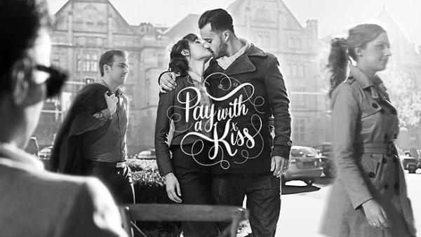 Pagar com um beijo