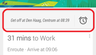 Google Now acorda