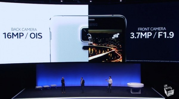 Samsung Note 4 camera