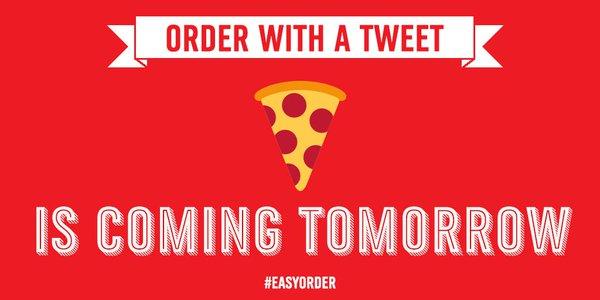 Conhece a Domino's Pizza e a sua estratégia 'Tweet-to-Eat'?