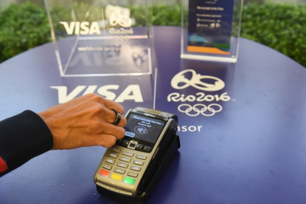 Anel NFC para os Jogos do Rio