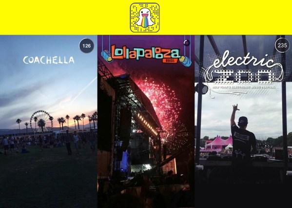 Snapchat: Partilhe o Melhor dos Seus Eventos