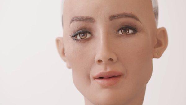 Web Summit 2017 - Sophia, a Robô Cidadã