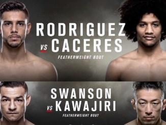 UFC Fight Night 92 Poster