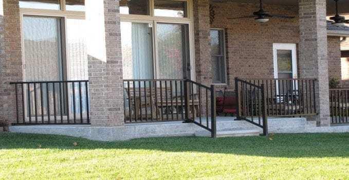 porch railing parts