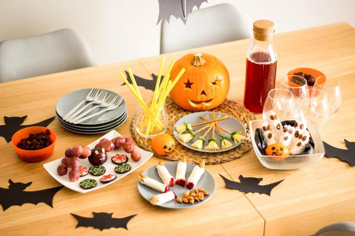 Zdrowe, fit przekąski na imprezę Halloween - nie tylko dla dzieci ;)