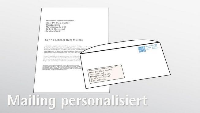 Mailing personalisiert