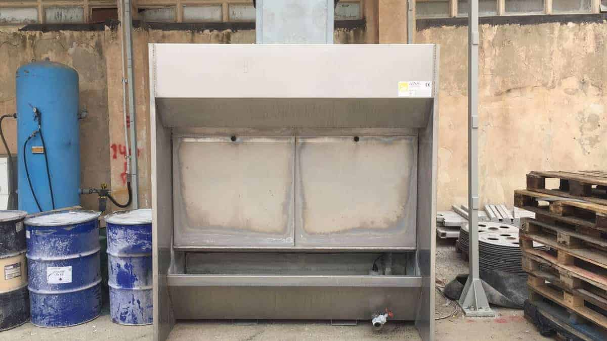 Mb So Water Wall Dust Extractor So F I Mb 20 Mmg Service Srl