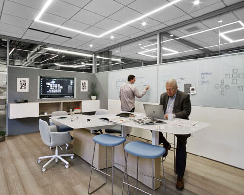 Project Management Office Interior Design Commercial Office Design