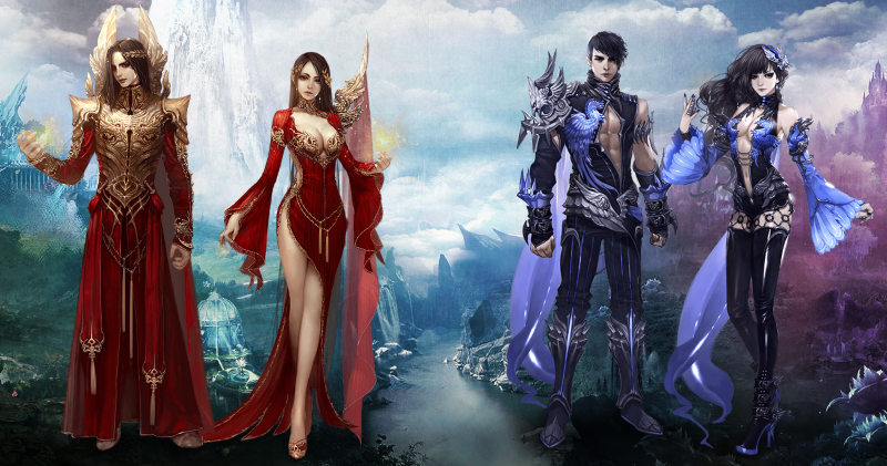 Girl Kiss Girl Wallpapers Aion Echoes Of Eternity Expansion Now Live Mmohuts