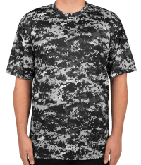 Custom Badger Digital Camo Performance Shirt - Design ...