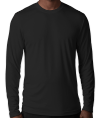 Custom Hanes Cool Dri Long Sleeve Performance Shirt