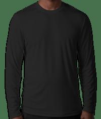 Custom Hanes Cool Dri Long Sleeve Performance Shirt ...