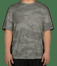 Custom Champion Camo Performance Shirt - Design Short ...
