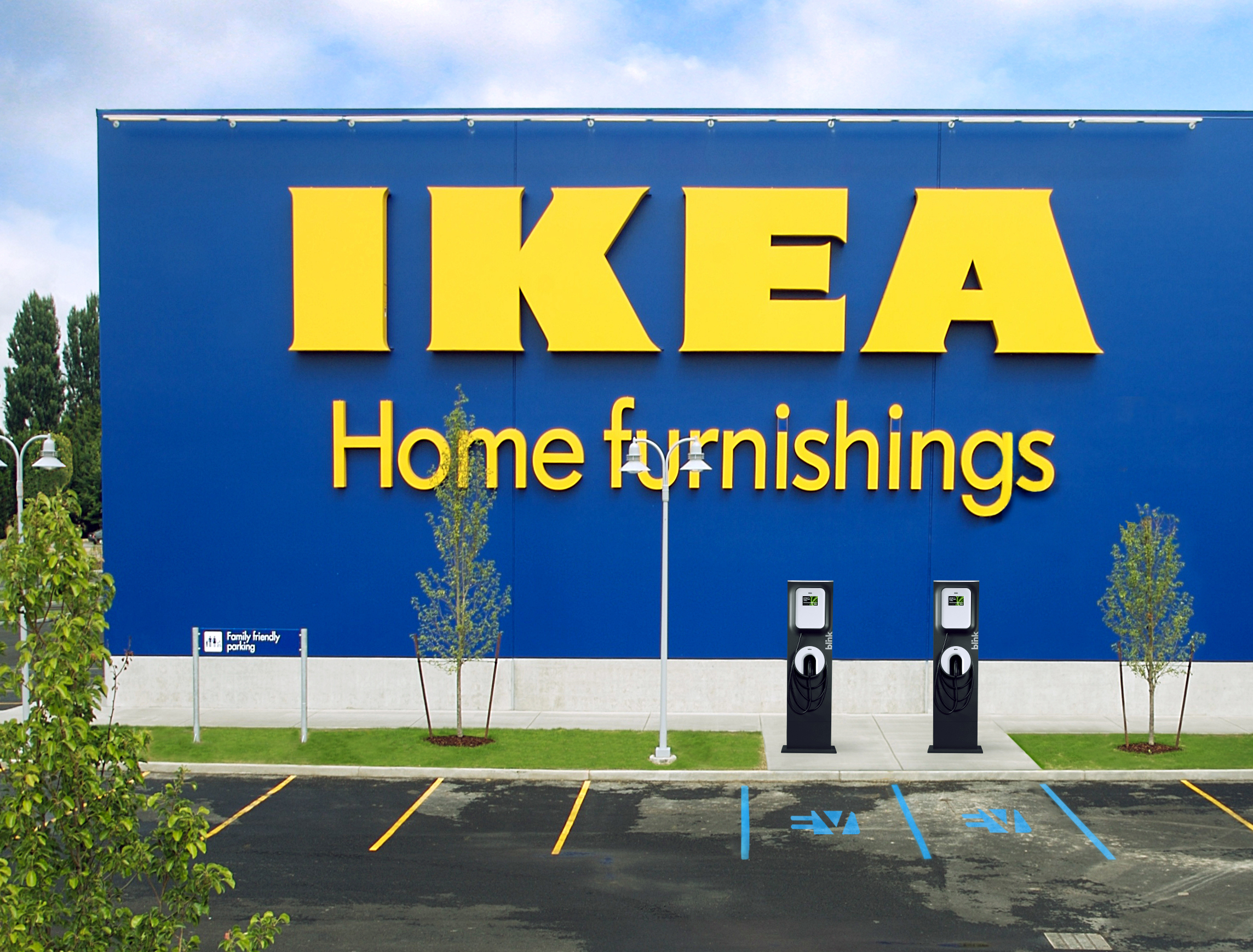 Ikea Frisco Ikea To Grow Presence Of Electric Vehicle Charging Stations With