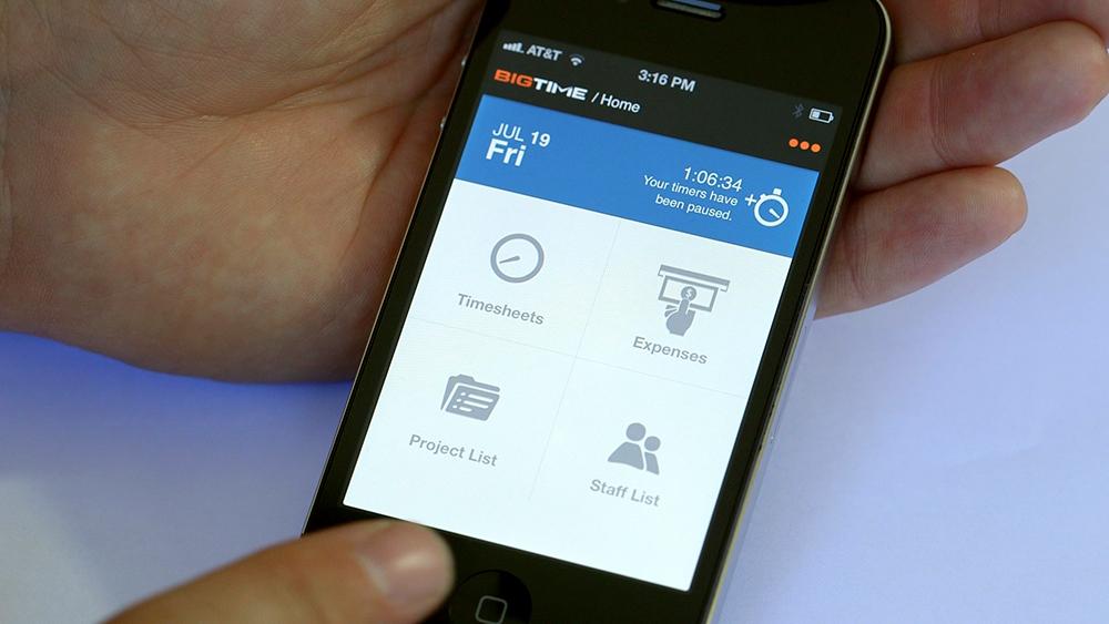 BigTime\u0027s Revolutionary New Mobile Time  Billing App Delivers Pro - business expense tracking app