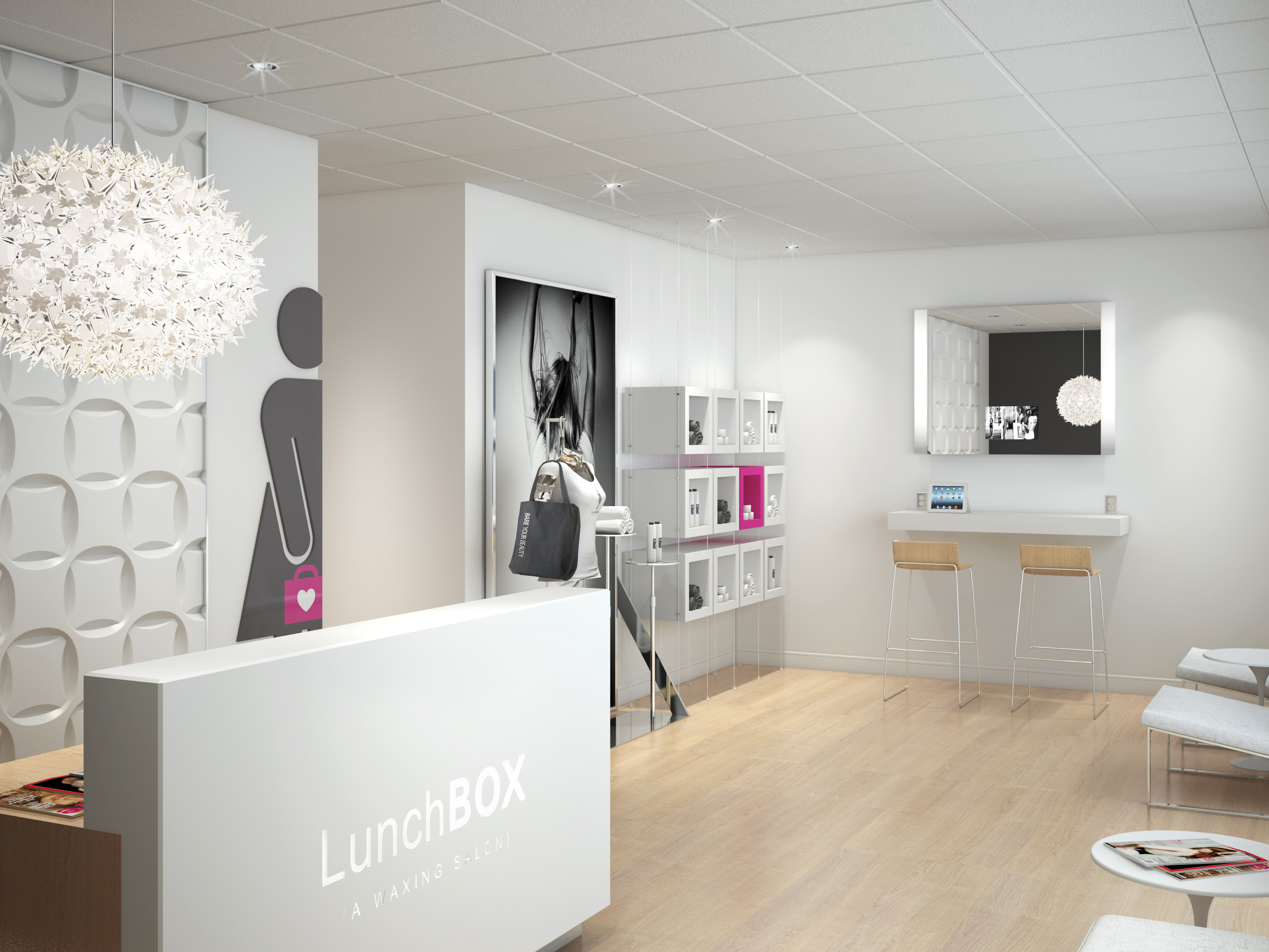 Salon Chic Lunchbox A Waxing Salon Makes Chic Salon Concept Available