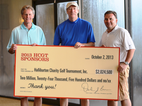 Human Resources Coordinator Houston Houstoncraigslistorg Halliburton Annual Charity Golf Tournament Raises A Record