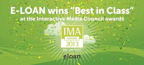 E-LOAN, Inc. Honored with Interactive Media Award | Business Wire