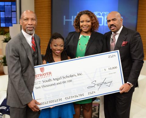 Strayer University Alumna Honored for Youth Development Work on