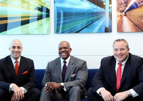 Mansa Capital Principals (L to R): Jason P. Torres, Ruben King-Shaw Jr. and James Renna (Photo: Busi ...
