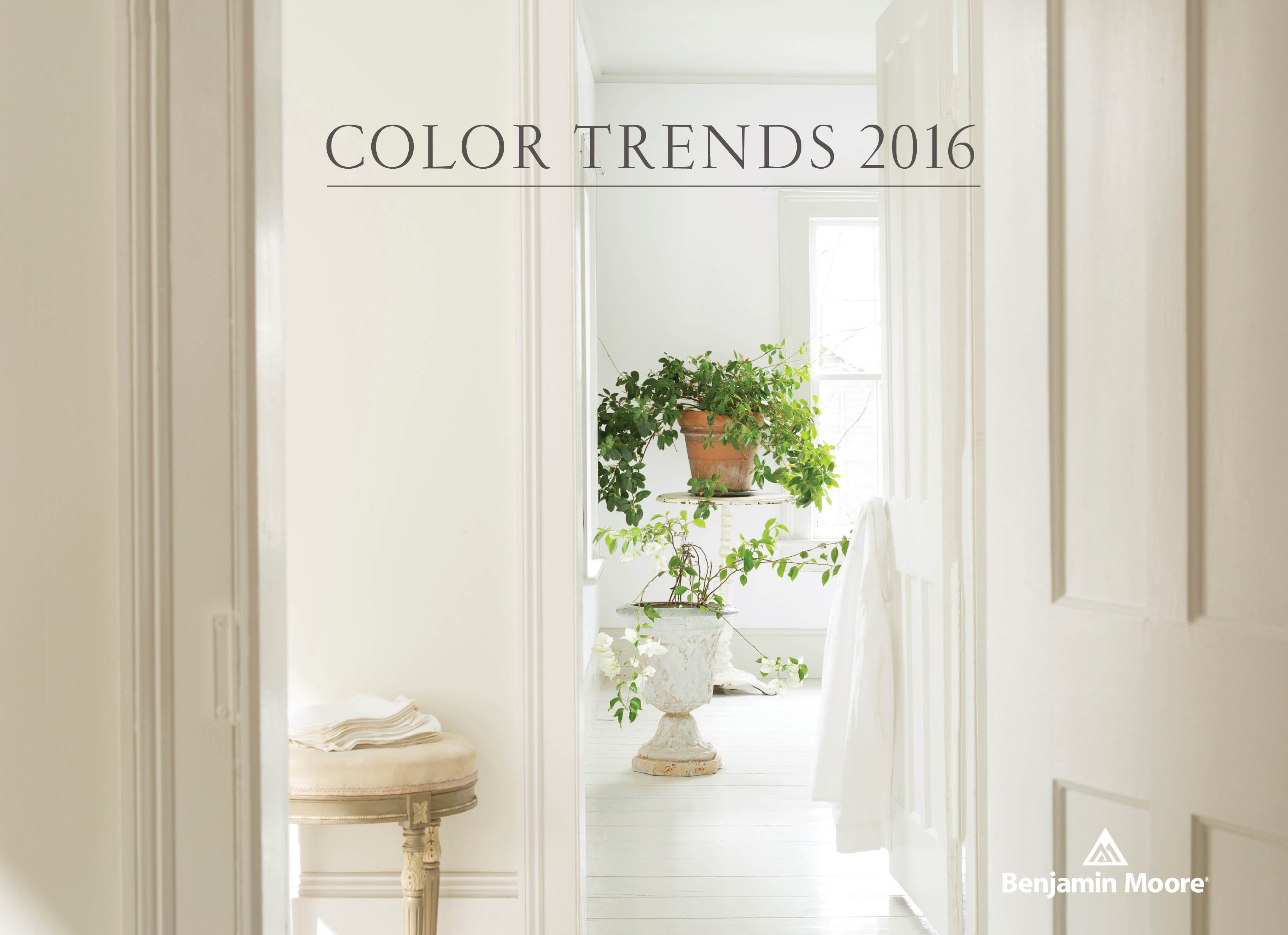 2016 Paint Trends Benjamin Moore Names Simply White Its 2016 Color Of The Year
