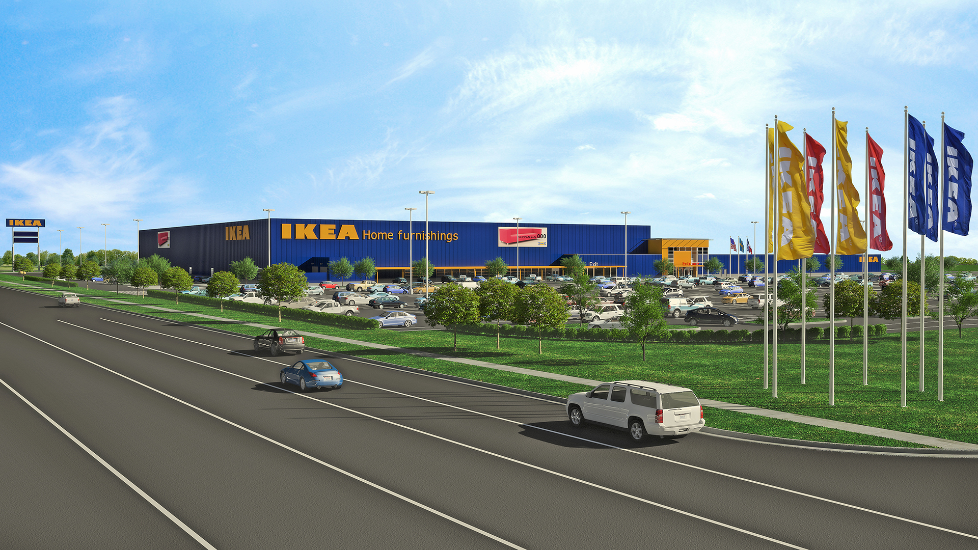 Ikea Stores In Texas Ikea Submits Plans For A Store In Grand Prairie, Texas To
