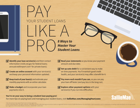 Sallie Mae Provides Grads with Tips and Tools to Manage Student Loan
