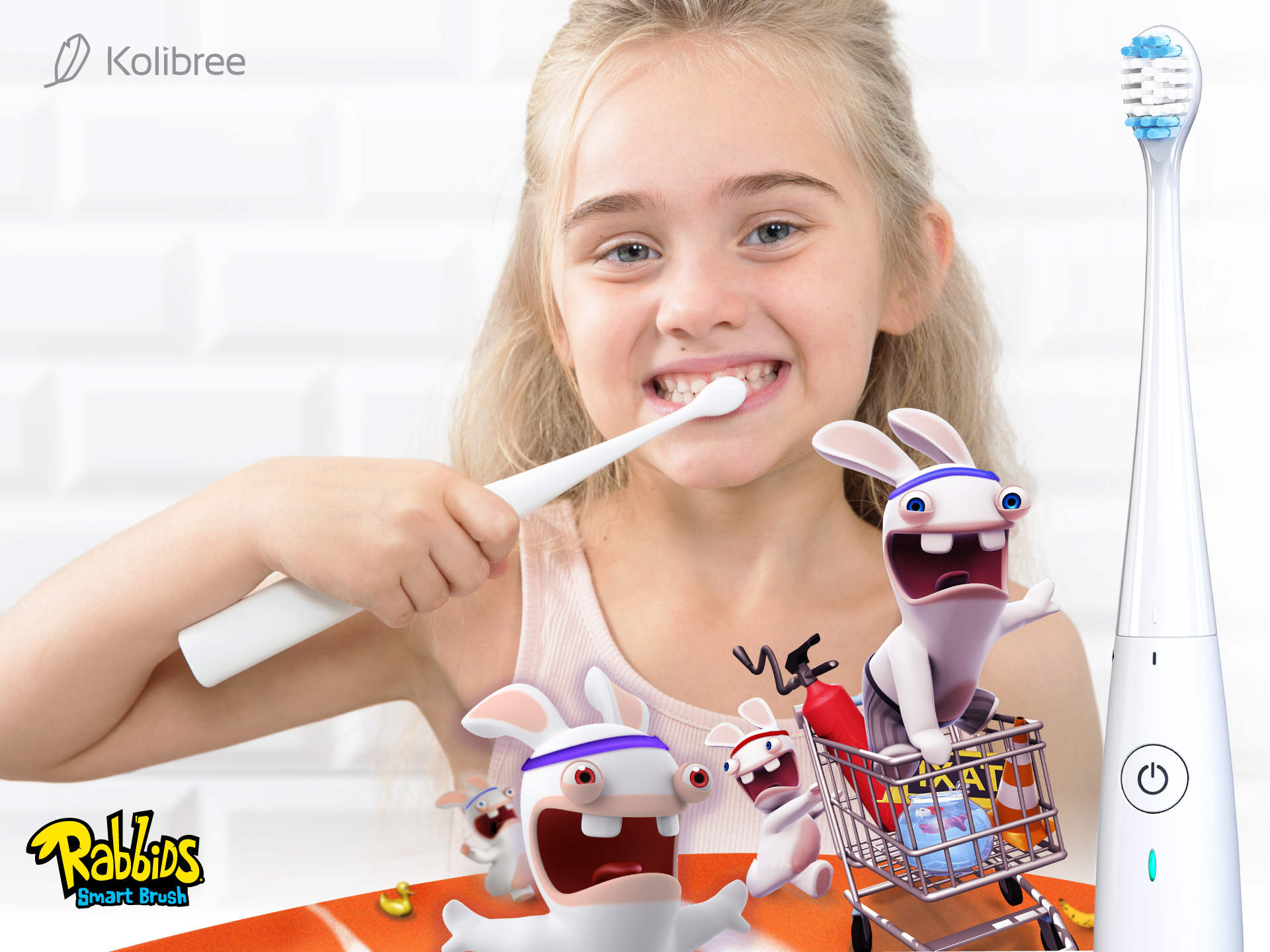 Help Kids Kolibree And Ubisoft Team Up To Help Kids Prevent Cavities