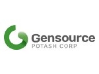 "SASKATOON, Saskatchewan--(BUSINESS WIRE)--Gensource Potash Corporation (""Gensource"" or the ""Company"") (TSX.V: GSP) is pleased to advise that it has received assay results from Well #2 of its two-well drilling program on its 100% owned Vanguard project area. The current two well program has been designed to complement and build upon two previous wells drilled on the property in 2012. Mike Ferguson, Gensource's President & CEO commented: ""We are very pleased to report that grades and thicknes"
