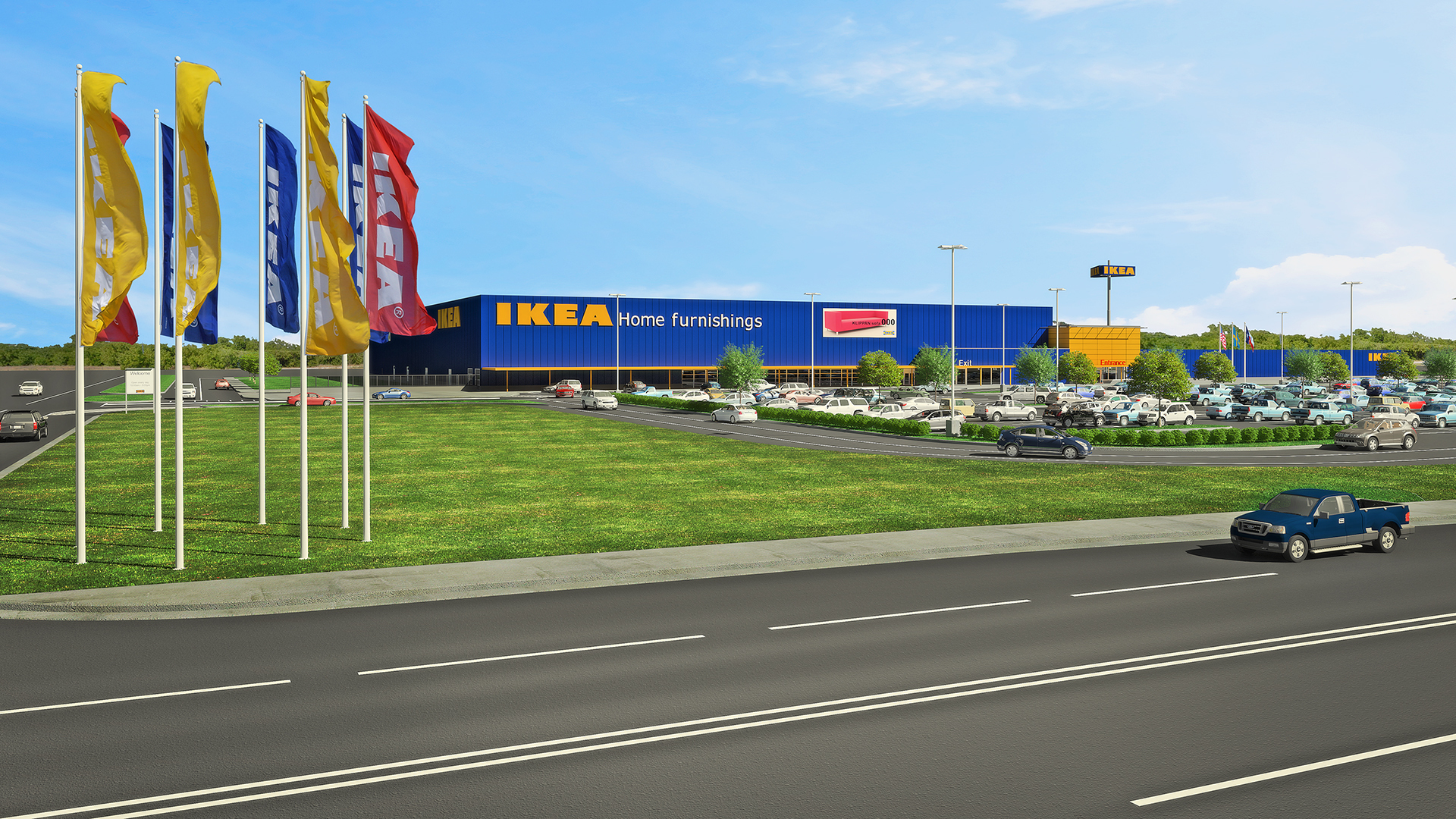 Ikea Frisco Ikea Proposes Plans For Fort Worth Store To Open Summer 2019 As