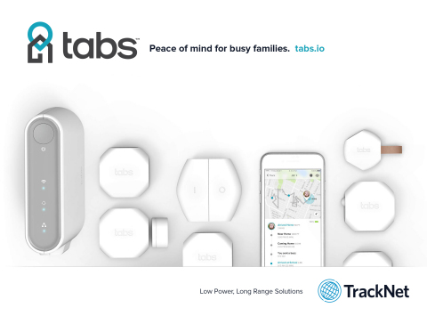 TrackNet Launches Tabs™ IoT Home and Family Monitoring Solution for
