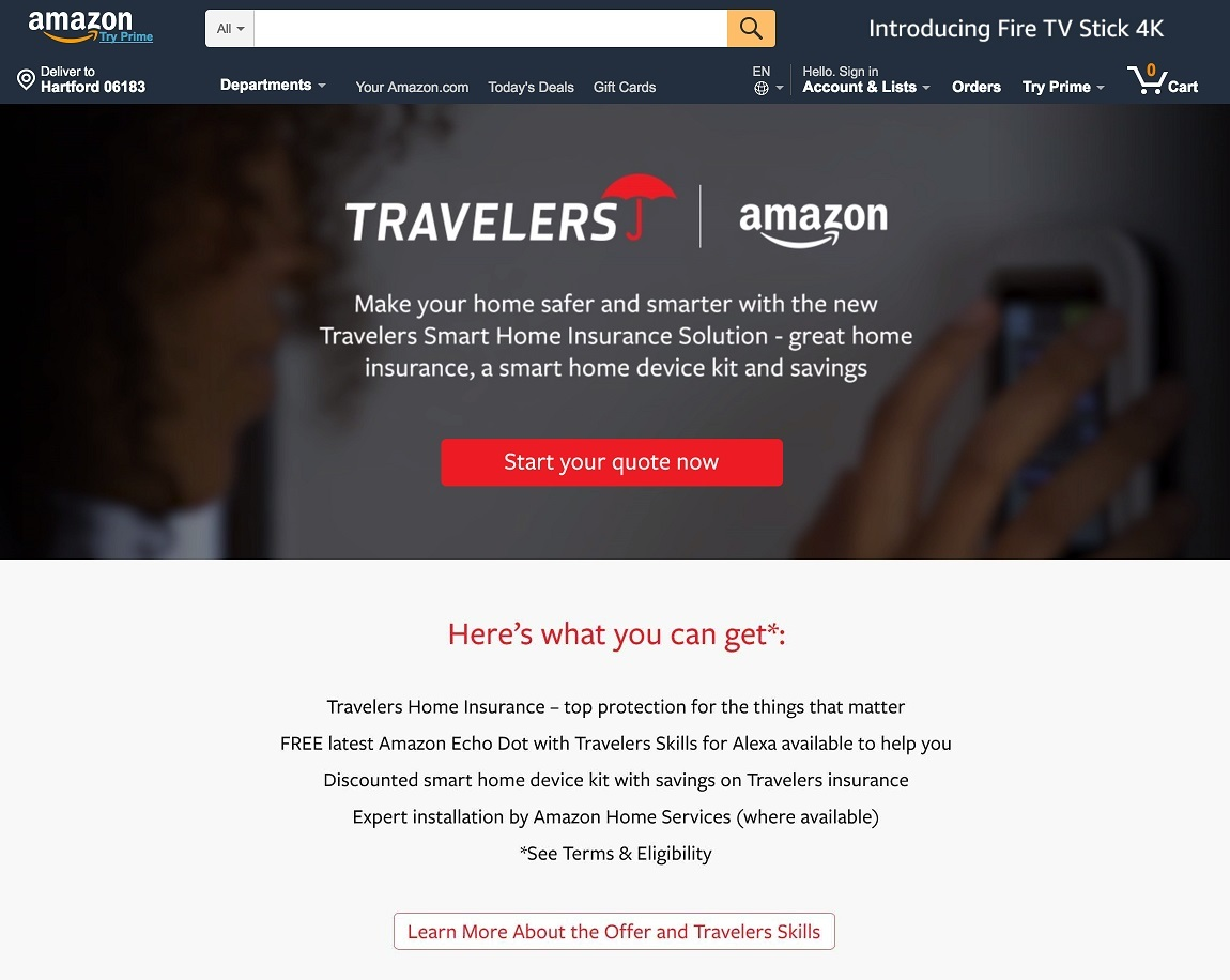 Amazon Smart Home Travelers Teams Up With Amazon To Provide Smart Home Solutions