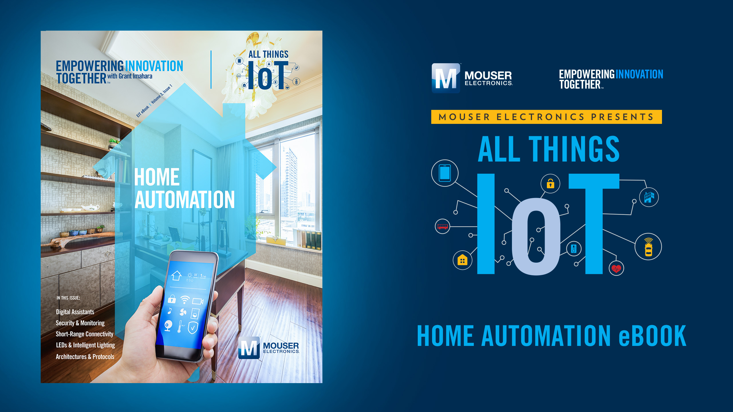 In Home Electronics Mouser Electronics Debuts New E Book On Home Automation As Part Of
