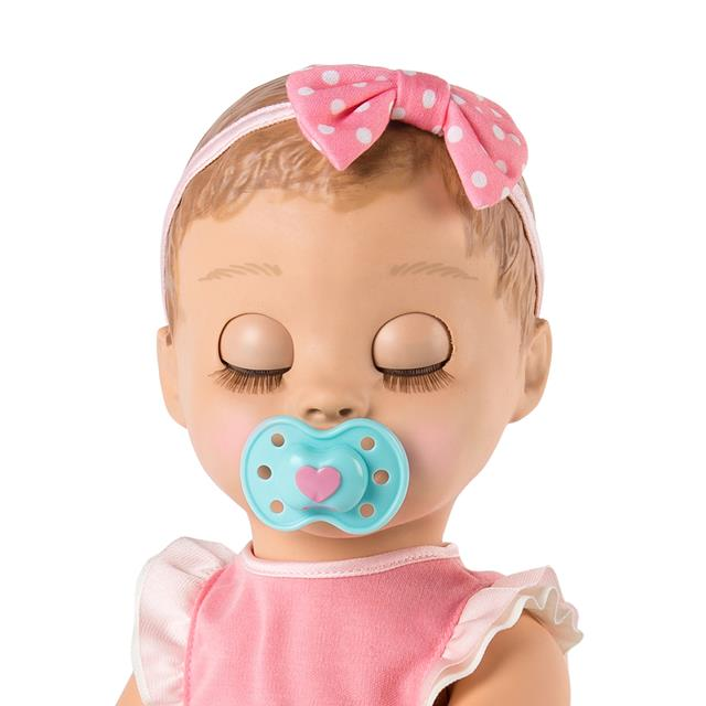 Doll Mastermind Toys Luvabella Interactive Baby Doll With Blonde Hair