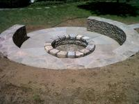 Making A Fire Pit. Private Campfire Reservation Washington ...