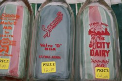 Small Of Vintage Milk Bottles