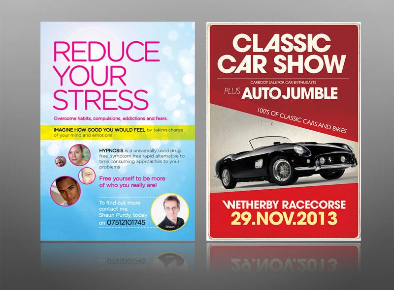 advertisement leaflet example