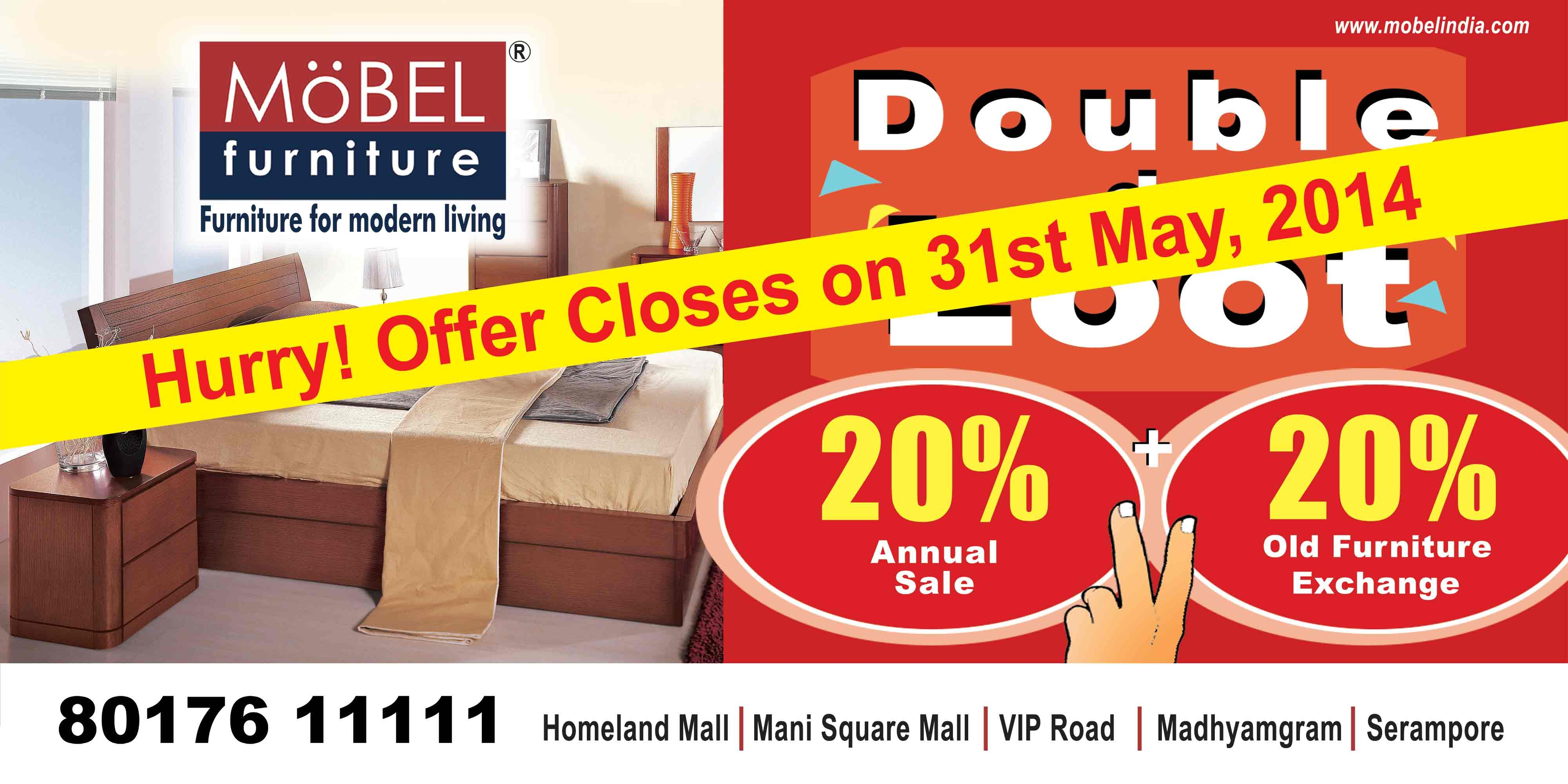 Möbel Online Discount Mobel S Furniture Exchange Offer Closing On 31st May 2014 Buy