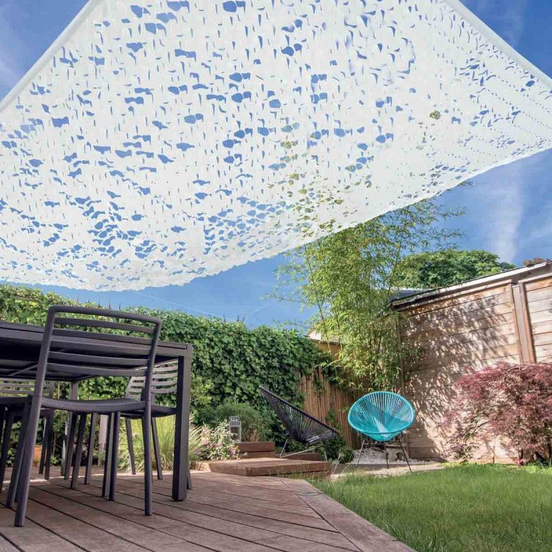 Store Banne Pergola Voile D'ombrage Pas Cher Camouflage