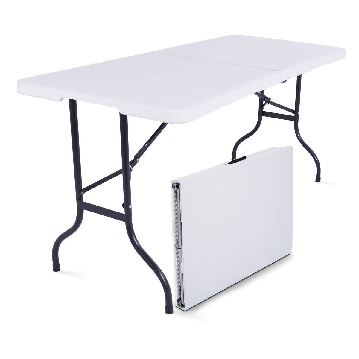 Table Rectangulaire 8 Personnes Table Pliante 8 Personnes