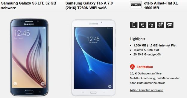 2016-04-19 21_58_55-Samsung Galaxy S6 + otelo Allnet-Flat XL ab eff. 7,57 € mtl.