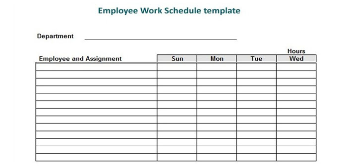 Developing An Efficient Process For Food Truck Work Schedules