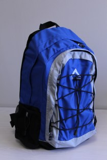 One of the first Cinema-in-a-backpacks that will be used by the Micro-Entreprenuers.