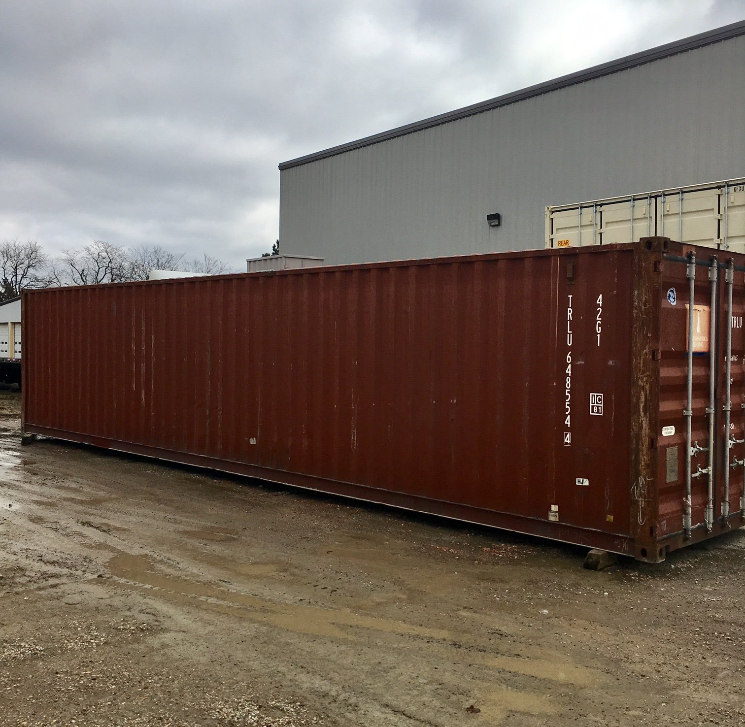 Peoria Storage 40 Ft Used Storage Container Mobile Maxx Peoria Illinois