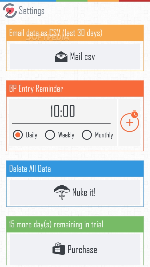 Download Blood Pressure Tracker for Windows Phone