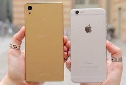 iphone camera vs sony camera