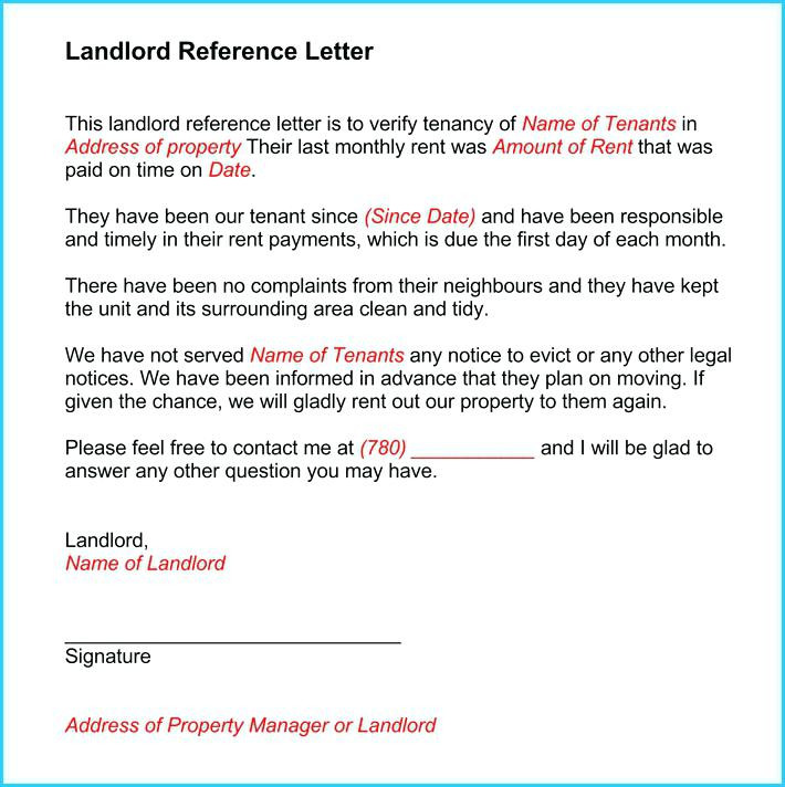 Character Reference Letter For Landlord mobile discoveries