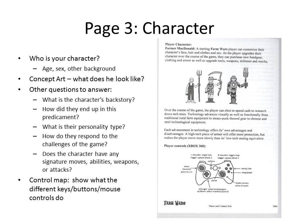 Game Design Document mobile discoveries